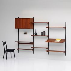 Kai Kristiansen at city-furniture.be   FM teak wall-unit, 1968