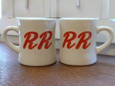 Twin Peaks Double R Diner mugs