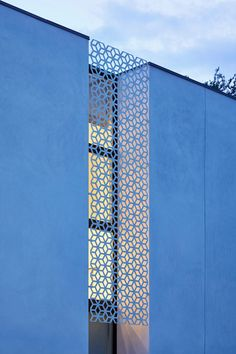 Photo 13 of 43 in Casa Marrakech by Creede Fitch - Dwell Architecture Design, Islamic Architecture, Facade Design, Concept Architecture, Exterior Design, Metal Facade, Metal Siding, Casa Patio, Austin Homes
