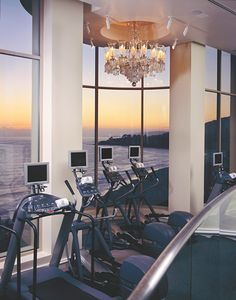 The Ritz-Carlton, Laguna Niguel offers an inspiring view for your daily workout.