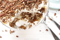 Carrot Cake Cheesecake Pudding Trifle - My Heavenly Recipes Carrot Cake Cheesecake, Cheesecake Pudding, Trifle Pudding, Pear And Almond Cake, Almond Cakes, Trifle Desserts, Dessert Recipes, Cake Mix Ingredients, Pear Recipes