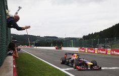 Vettel wins Belgian GP 2013