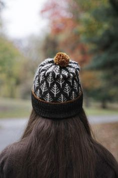 The Deep Woods Toque is a beautiful hat pattern to keep you warm this winter. Find this pattern and more fair isle knitting inspiration at LoveKnitting.Com.