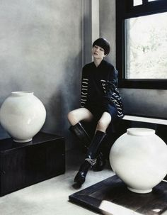 Fashion Into Crafts   Vogue Korea, August 2013.