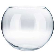 "8"" Bubble Ball Vase ($4 each if you buy on the 50% off Glass Decor week)"