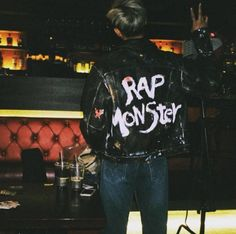 bts, rap monster, and namjoon image Seokjin, Kim Namjoon, Jung Hoseok, Bts Rap Monster, Rap Monster Quotes, K Pop, Taehyung, Albert Camus, Rapper