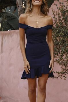 Tea length homecoming dresses - Fitted Navy Blue Party Dress from Sancta Sophia – Tea length homecoming dresses Navy Blue Party Dress, Dresses Elegant, Dresses Short, Hoco Dresses, Tight Dresses, Sexy Dresses, Casual Dresses, Fashion Dresses, Party Wear