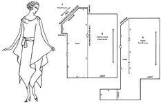 Vionnet dress pattern