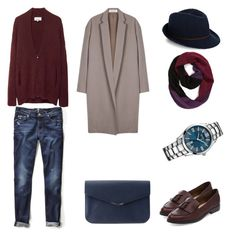 """""""денди"""" by shkolashopinga ❤ liked on Polyvore featuring Organic by John Patrick, 3.1 Phillip Lim, Fendi, 7 For All Mankind, BOSS Hugo Boss, Accessorize and Phase 3"""