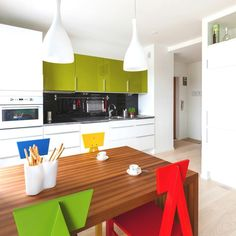 Penthouse scandinav indraznet si plin de culoare. interior design. Maurizio Giovannoni arhitecture