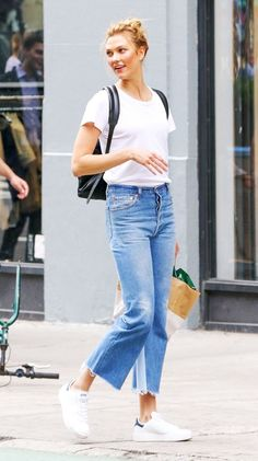 And Now, Here Are 5 Easy Summer Outfits Celebs Love via @WhoWhatWear