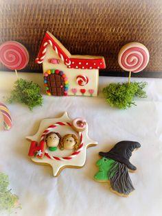 Hansel and Gretel decorated cookies #unagalletauncuento
