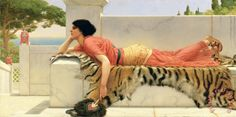 John William Godward / Expectation
