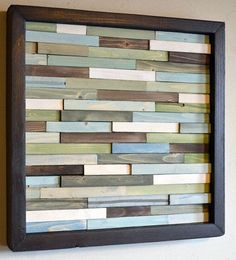 wood art. this would be a good project for my oldest son.