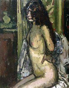 walter sickert - seated nude