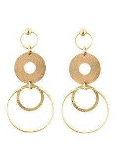Invicta gold #earrings