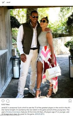 Gorgeous couple: Jennifer Lopez and Alex Rodriguez cuddled up for a cute snap posted on I. Jennifer Lopez, Alex Rodriguez, Chic Outfits, Summer Outfits, Fashion Outfits, J Lo Body, J Lo Fashion, Fashion Styles, Fashion Ideas