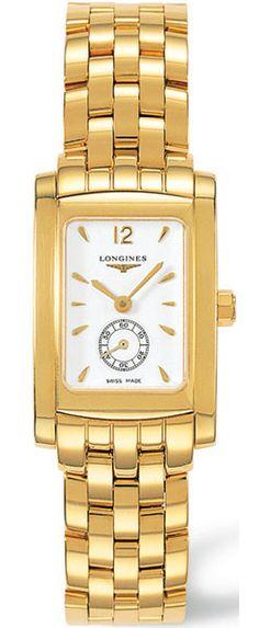 Longines Dolce Vita 18k Gold Womens Watch - L51556166 7k