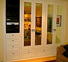 Custom built-in his & hers closets