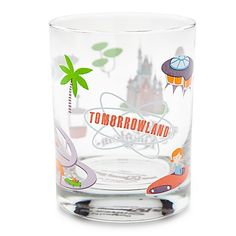 Disney Tumbler Glass - Shag - Tomorrowland 400002845539 Walt Disney World Tomorrowland Glass by Shag Item No. Mickey Mouse Kitchen, Disney Kitchen, Disney Mugs, Disney Home Decor, Disney Love, Disney Stuff, Character Home, Vintage Disneyland, Tiki Room