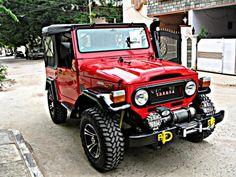 Toyota Landcruiser fj40 JEEP, Land Cruiser, 1971Napd, 4x4Silnik NISSAN BD30, Winch RUNVA 12000lbs - Hyderabad - Trucks - Commercial Vehicles