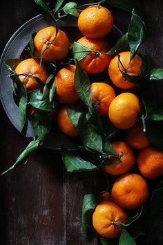 Tangerines. Mandarinas. Fragancia, color y sabor.