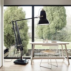 Anglepoise | Original 1227 Giant Brass Floor Lamp | design by George Carwardine