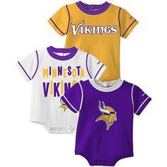 Reebok Minnesota Vikings Newborn Gold-White-Purple « Clothing Impulse