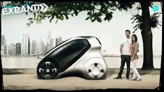 The Volkswagen Expand is a super-versatile concept vehicle that offers not 1 but 2 functional expansions that make it the perfect urban commuter.