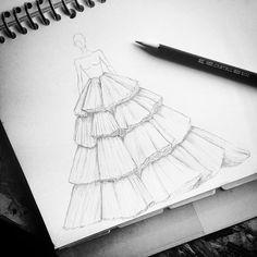 Fashion design sketches 801992646123799079 - Fashion design dress sketches beautiful 30 Super Ideas Source by