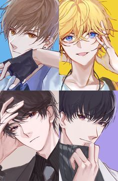HASMEN17 Anime Couples Drawings, Anime Couples Manga, Anime Manga, Anime Art, Handsome Anime Guys, Cute Anime Guys, Anime Boys, Drawing Poses Male, Upcoming Anime
