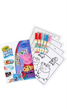 Peppa Pig, Free Coloring, Girls Bedroom, Birthday, Cards, Birthdays, Girl Bedrooms, Maps, Playing Cards