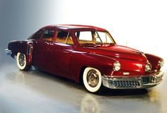 "1948 Tucker Sedan (known as the ""Tucker '48"", nicknamed the ""Tucker Torpedo""), an car which introduced many modern features. Only 51 cars were made before production was shut down amidst scandal & controversial accusations of stock fraud on March 3, 1949. The most recognizable feature of the Tucker '48, a directional third headlight (the ""Cyclops Eye""), turned by the steering wheel to light the car's path around corners. It had a rear engine & rear-wheel drive. Google for more inovations."