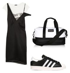 """""""Untitled #96"""" by hilal-arslan on Polyvore featuring adidas, R13 and adidas Originals"""