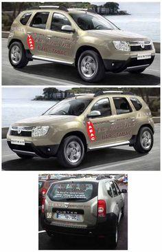 Dacia Duster Marquage Malou Creamir