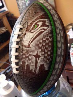 Cool Seahawks Football.