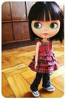 just because I love #blythe dolls . middle schooler