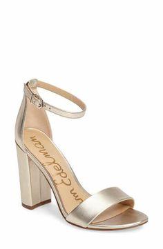 4efc3bbc0707 Sam Edelman Yaro Ankle Strap Sandal (Women) Ankle Strap Block Heel