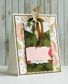 Garden in Bloom, English Garden DSP, Gift Card & Envelope Trims Thinlits, Banner Tripple Punch, Itty Bitty Accents Punch Pack