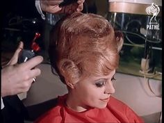 Discover & share this Hairdresser GIF with everyone you know. GIPHY is how you search, share, discover, and create GIFs. Bouffant Hair, Prom Hair Updo, Short Hair Updo, Curly Short, 1950s Hairstyles, Curled Hairstyles, Vintage Hairstyles, Gorgeous Hairstyles, Hairdos
