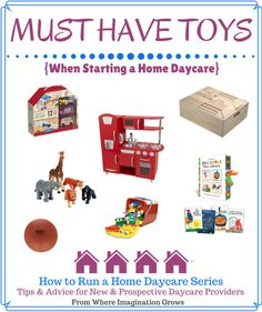 Must Have Toys Ideas When Starting a Home Daycare