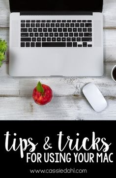 Are you a Mac user? This blog post is full of tips and tricks to help you use your Mac more efficiently, effectively and effortlessly! Did you know there is three different ways to take a screenshot?