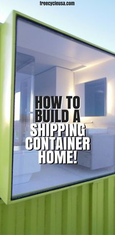 4 Shipping Container House Container House DIY Shipping Container Home Guide for Cost Saving Green Home Who Else Wants Simple Step-By-Step Plans To Design And Build A Container Home From Scratch Cargo Container Homes, Building A Container Home, Storage Container Homes, Container House Design, Container Cabin, Container Store, Container Architecture, Container Buildings, Sustainable Architecture