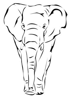 elephant by artbejo
