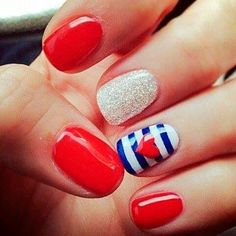 Stylish Nail Art Designs To Wear Any Time  #nailart #naildesign