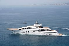 5) Al Said – $300 Million------Al Said was named after its owner Sultan Qaboos Bin Said Al Said of Oman. There must be something about being super wealthy that makes you want to name things after yourself. At the time of its construction Al Said was the world's second largest yacht. It cost a staggering $300 million and was built from an aluminum super structure.