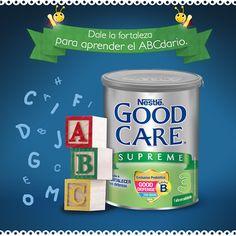GOOD CARE SUPREME® contiene vitaminas y minerales, elementos con micronutrimentos esenciales para el adecuado desarrollo de tu pequeño. ¿Quieres saber más? Visita ow.ly/AP2Pn