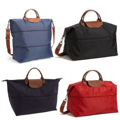 Rank \u0026amp; Style - Longchamp Le Pliage Expandable Travel Bag #rankandstyle
