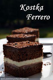 Kawa cynamonem pachnąca: CIASTO KOSTKA FERRERO Tiramisu, Ethnic Recipes, Tiramisu Cake