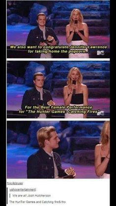 It's Hunger Games : Catching Fire! Get it right!